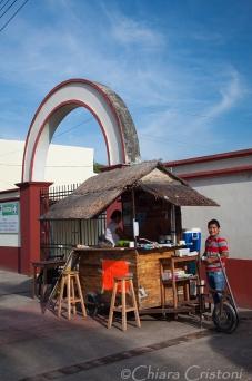 """Mexico Bacalar Yucatan """"Quintana Roo"""" stall"""