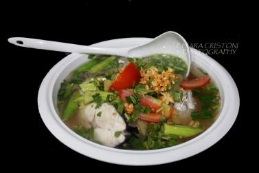 Mackerel soup