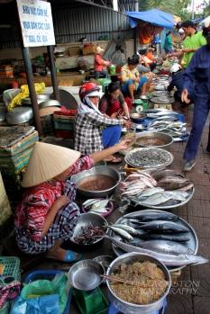 At Con Dao market