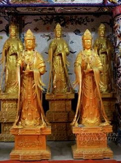 At the Linh Phuoc pagoda