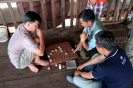 A game of the popular Chinese chess (Xiangqi)