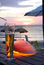 Phu Quoc - Sunset drink at the beach