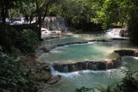 Kuang Si waterfalls, Lao