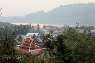 View of Luang Prabang from Phousi Hill