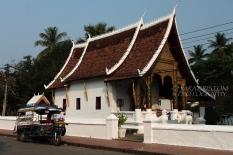 Quintessential Luang Prabang: temples and tuk tuks