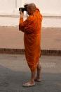 Monks like taking photos too!