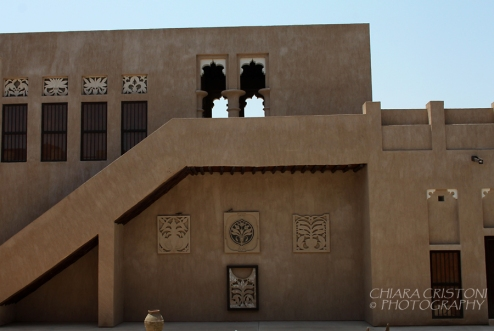 Dubai - Traditional building in the Heritage Village