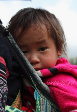 Black HMong child