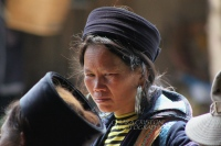 Sa Pa - Black HMong woman