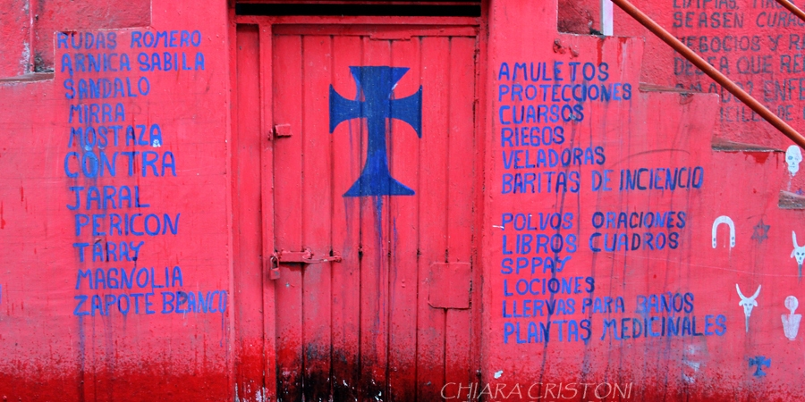 House of a brujo in Catemaco