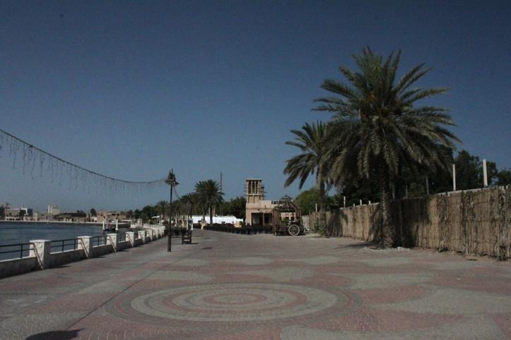 Along the Al Shindagha waterfront