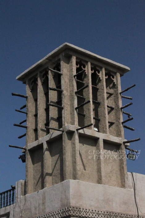 A typical windtower