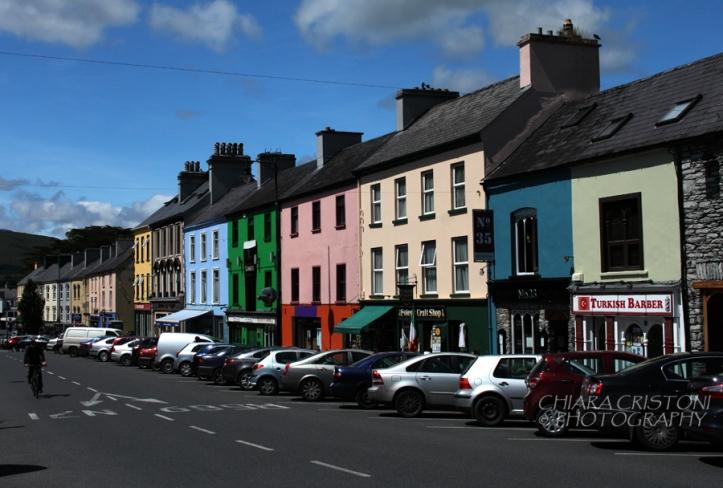 Street in Kenmare, Ireland