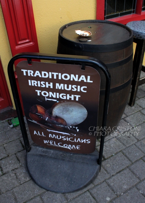Pub sign in Kenmare, Ireland
