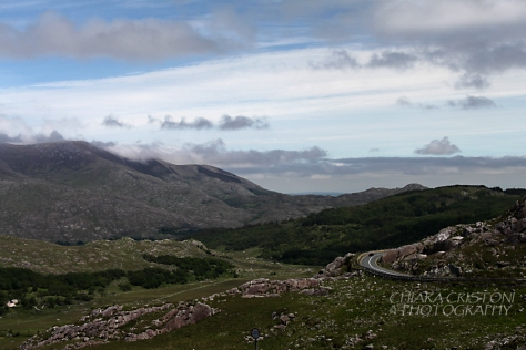 View along the Ring of Kerry