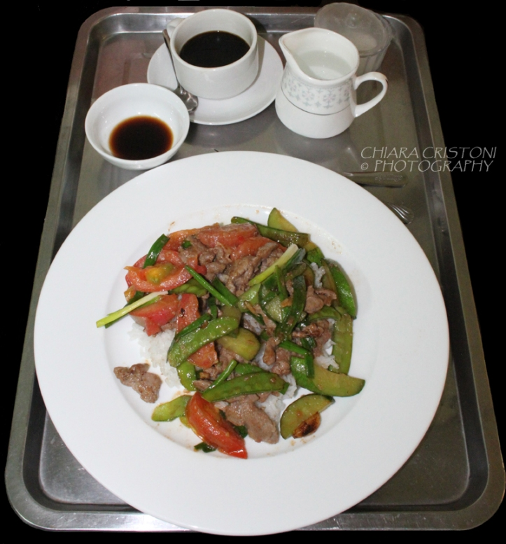 Stir-fry with beef in Vietnam