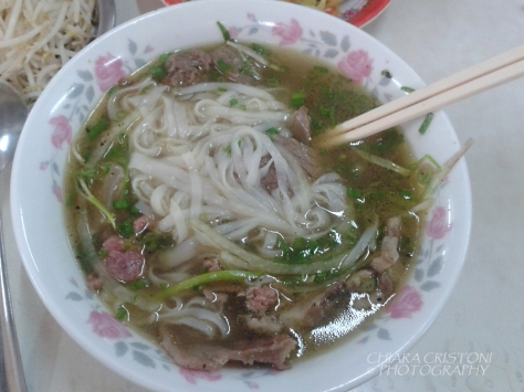 Beef pho, or pho bo