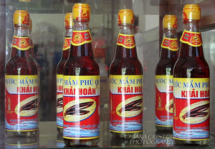 Nuoc mam, or fish sauce, from Phu Quoc