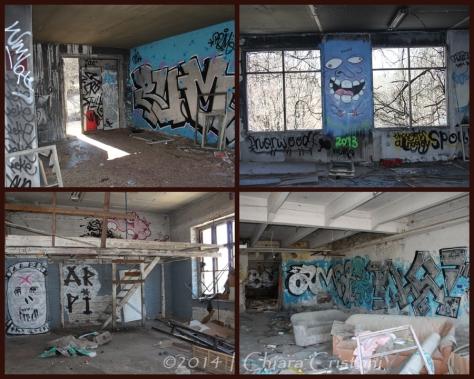 Indoor graffiti Tampere Finland