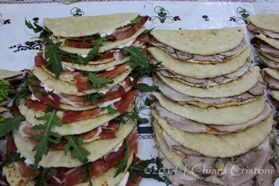 Piadina food Italy Romagna