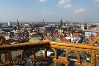 "panorama Copenhagen ""our saviour church"""