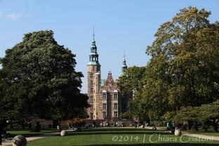 Copenhagen Denmark Rosenborg castle