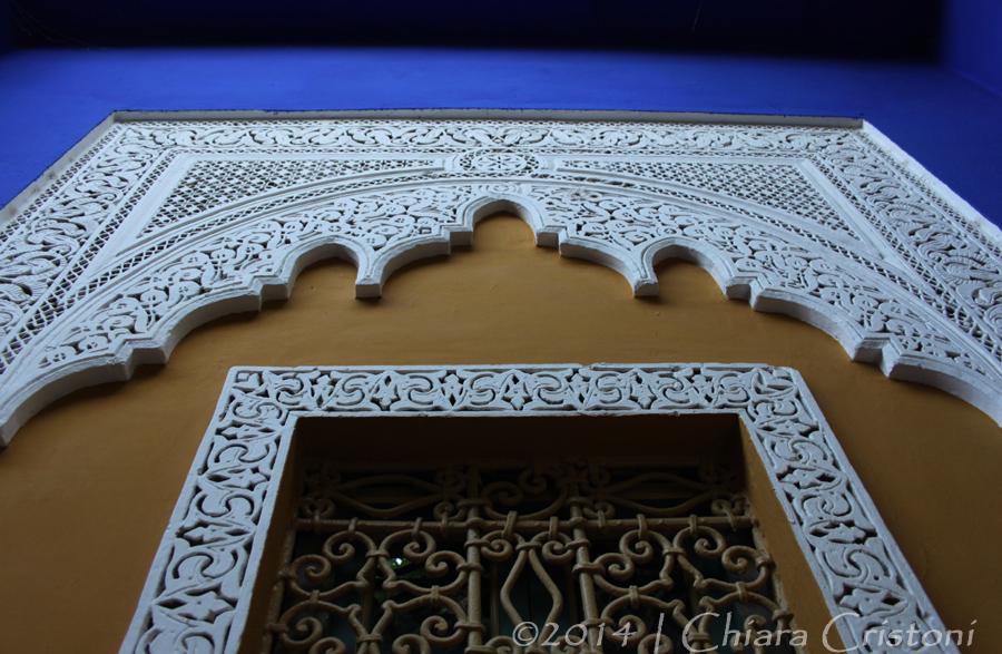 "Morocco Marrakech ""Jardin Majorelle"" blue"