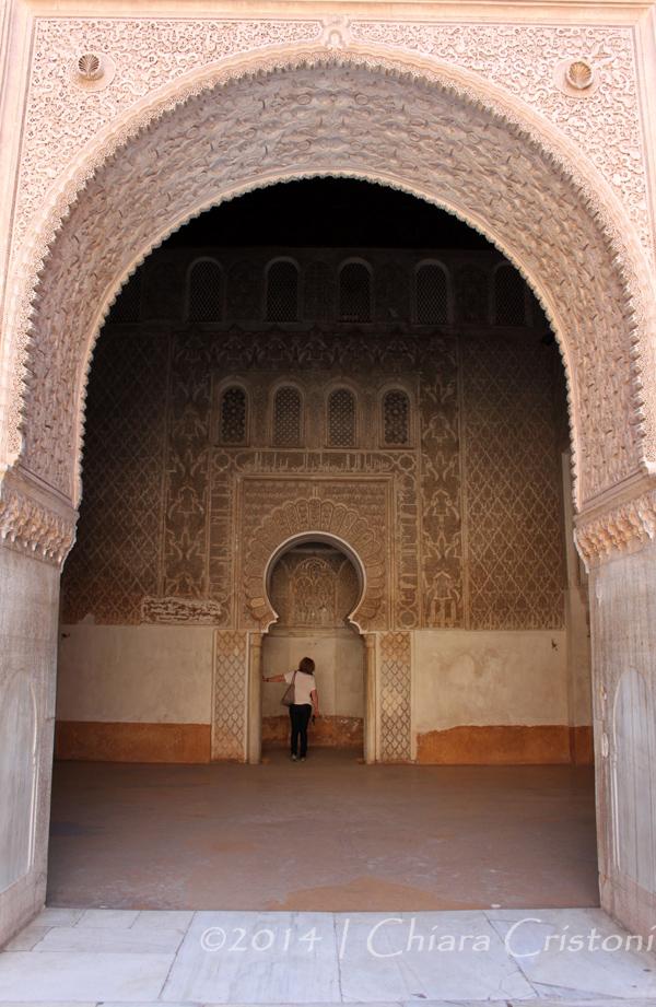 Morocco Marrakech Medina Ali Ben Youssef Madrasa