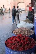 Morocco Marrakech Medina souk