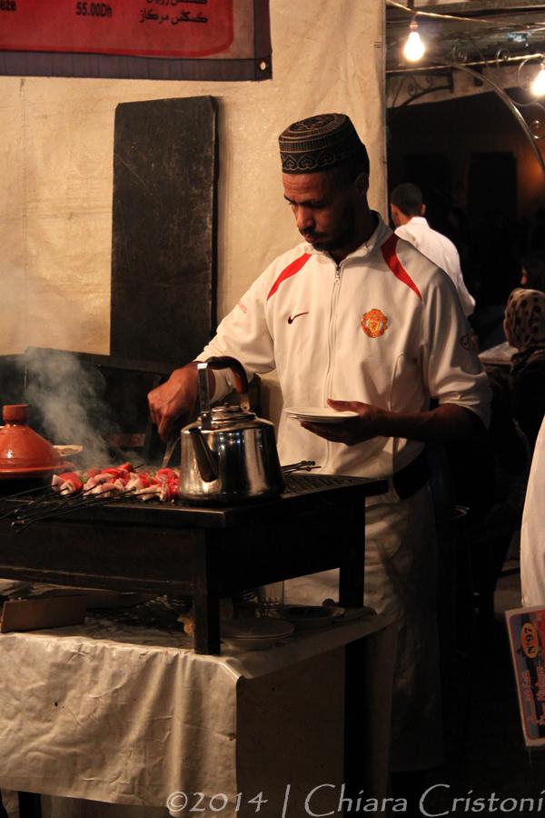 Morocco Marrakech Medina Jemaa el-Fnaa