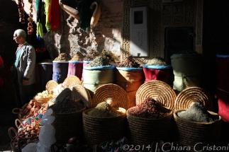 Morocco Marrakech Medina souk market