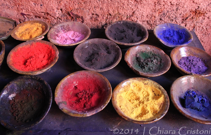 Morocco Marrakech Teinturiers dyers