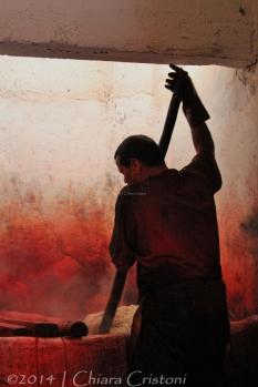 Morocco Marrakech Teinturiers dyers souk