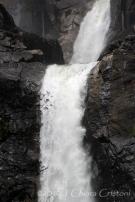 Yosemite California waterfall