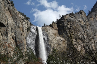Yosemite California Bridalveil waterfall