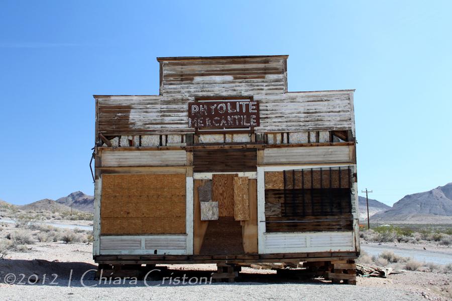 "Rhyolite Nevada ""ghost town"""