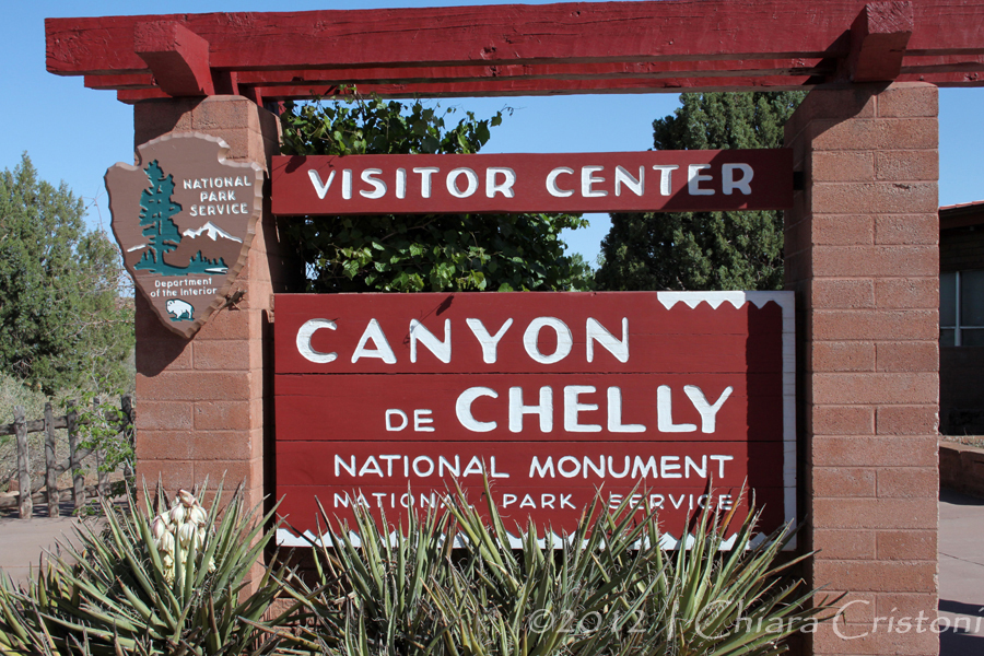 """Canyon de CHelly"" USA Arizona monument"
