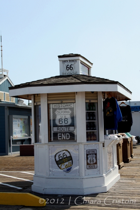 """Santa Monica"" ""Route 66"" ""Mother Road"""