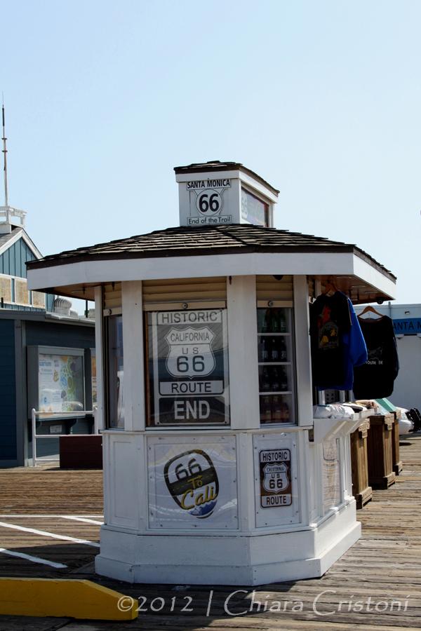 """Santa Monica"" ""Route 66"" ""Mother Road"""