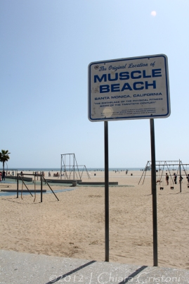 """Muscle Beach"" ""Santa Monica"" ""Los Angeles"" California"