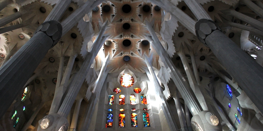 """sagrada Familia"" Barcelona Spain"