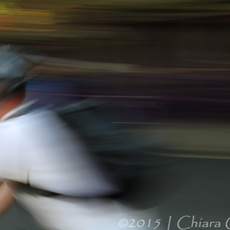 motion, movement, panning, cyclist, painting