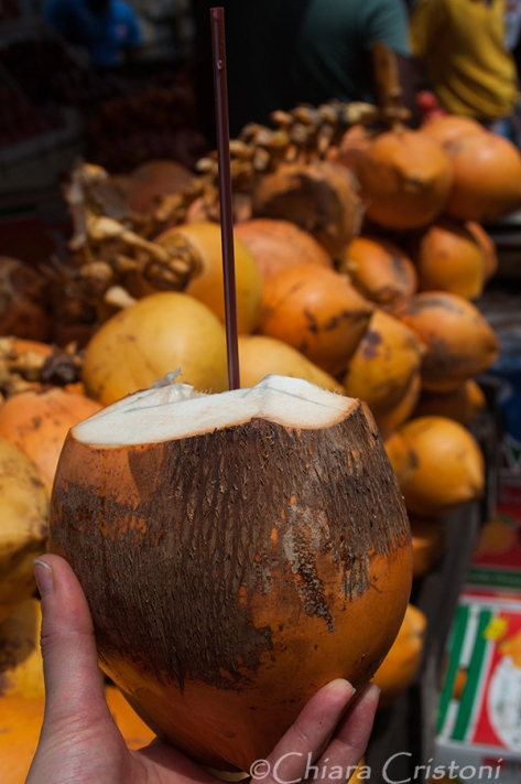 Fresh coconut!