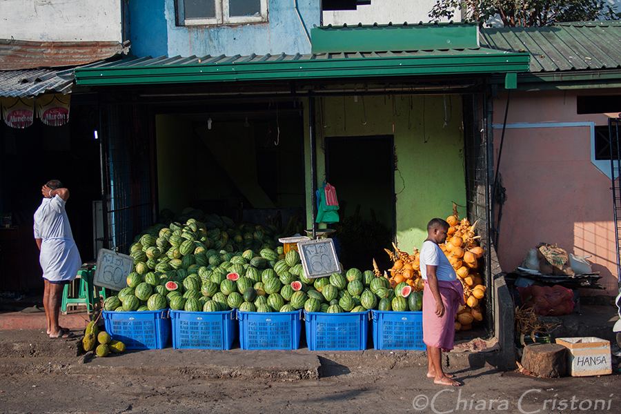 """Sri Lanka"" Kandy market vegetables"