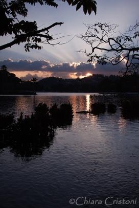 """""""Sri Lanka"""" Kandy lake sunset"""