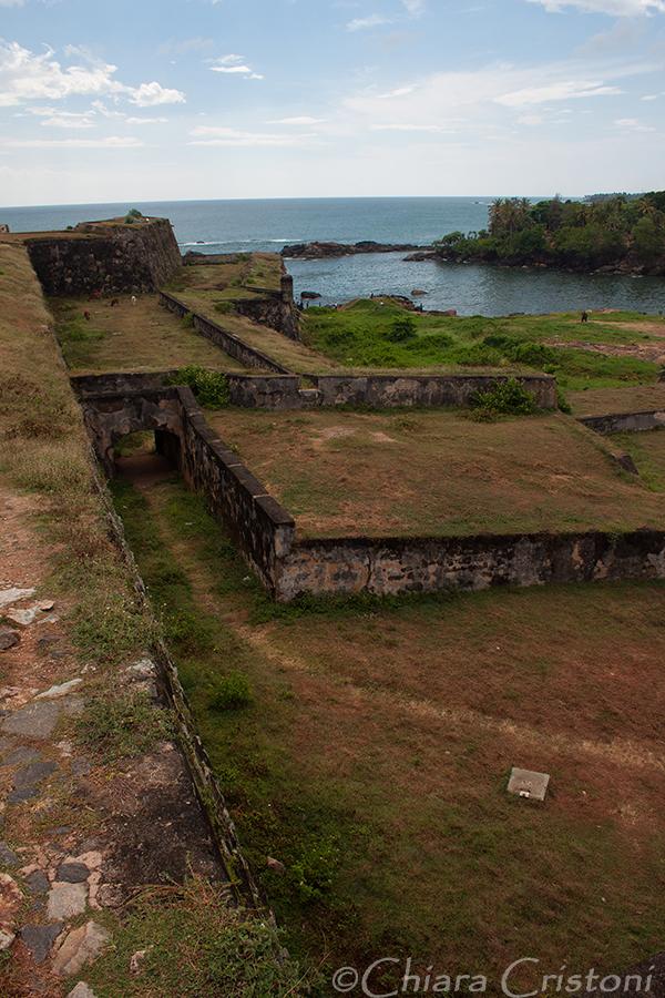"""Sri Lanka"" Galle fort walls"