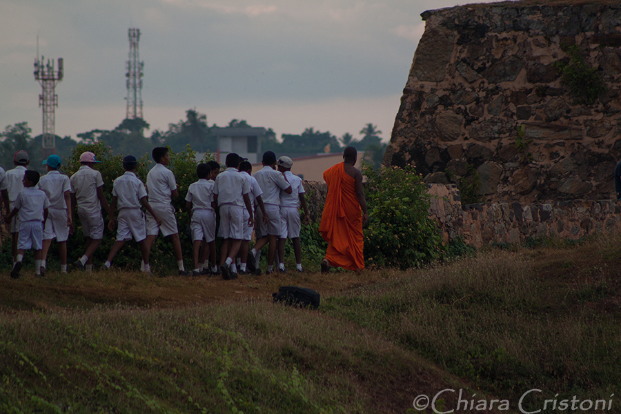 """""""Sri Lanka"""" Galle fort monk"""