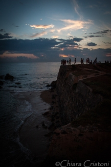 """Sri Lanka"" Galle fort sunset"