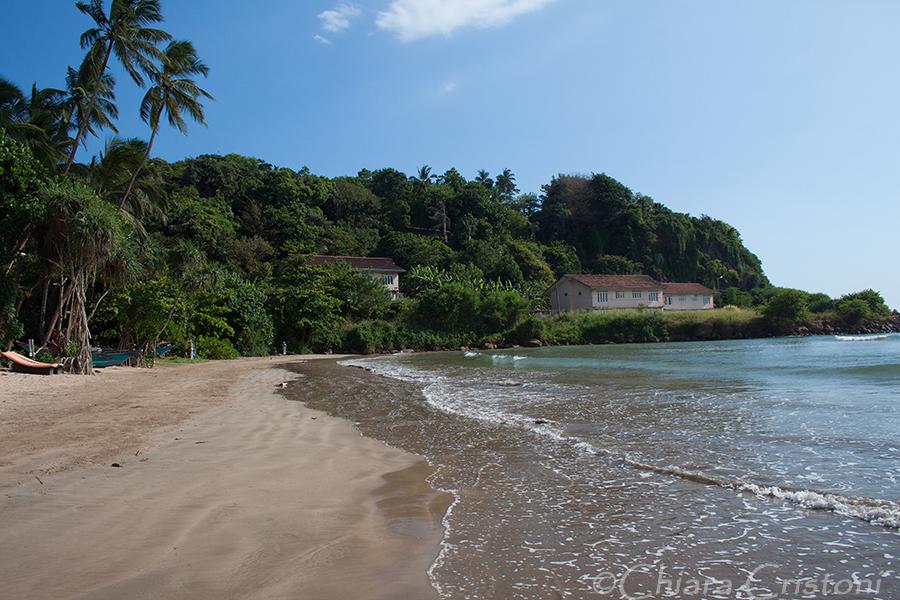 """Sri Lanka"" Galle Unawatuna ""Rumassala beach"" beach"