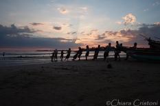 """Sri Lanka"" Galle Unawatuna ""Rumassala beach"" beach fishermen"